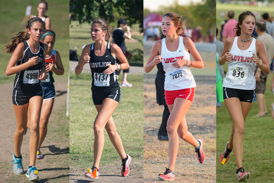 Hallie Fischer has run cross country for the past five years, four of them at the high school level.