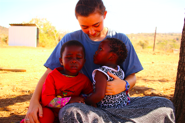 This past summer, senior Caroline Smith spent the month of July working as a missionary in the third world African country of Swaziland.