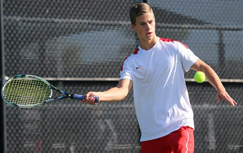Tennis competes in last tournament before districts