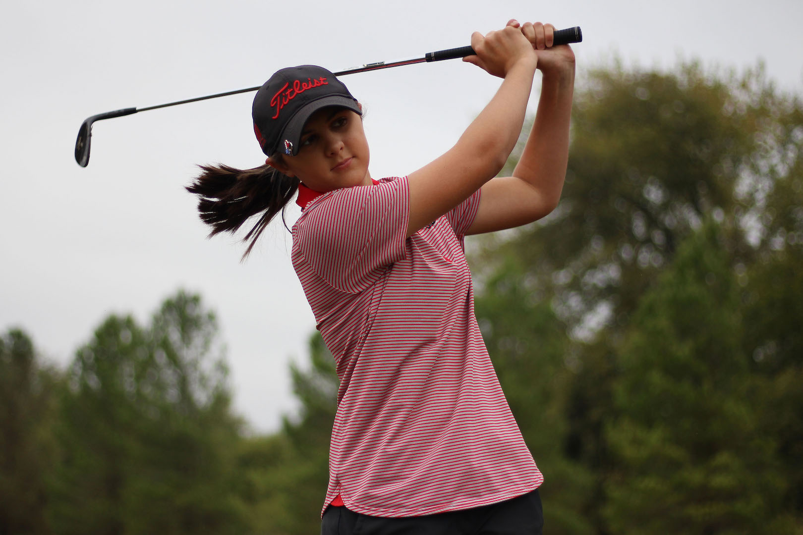 Katie Dragoo has high hopes for individually and as a whole for the golf team.