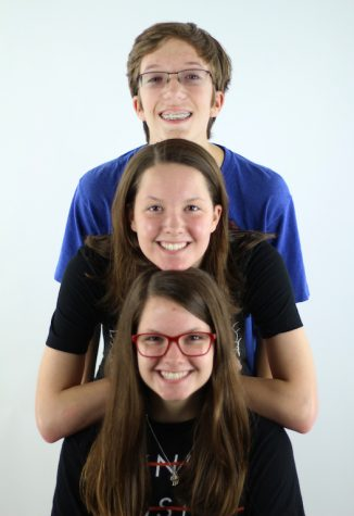 Above: Ian, Jackie, and Kelsey Carroll.