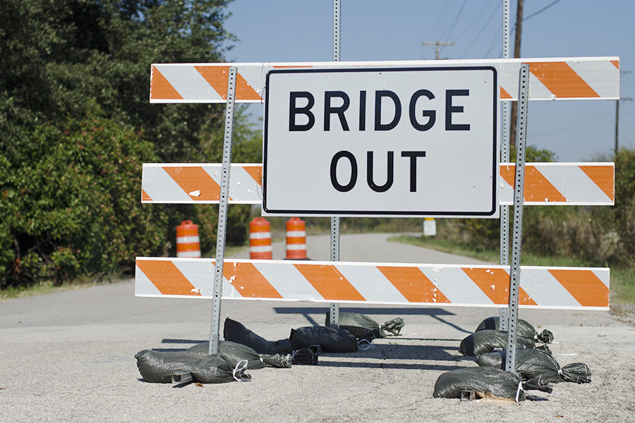 Blondy Jhune Road was officially closed down in September and expected to last until April.