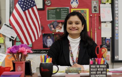 Despite current political turmoil and social persecution, AP Biology teacher Sadaf Syed, a practicing Muslim, continues to view the world as