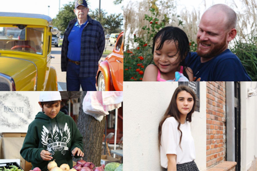 Abby Bryant uses photos to tell the stories of random humans of Collin County for her senior project.