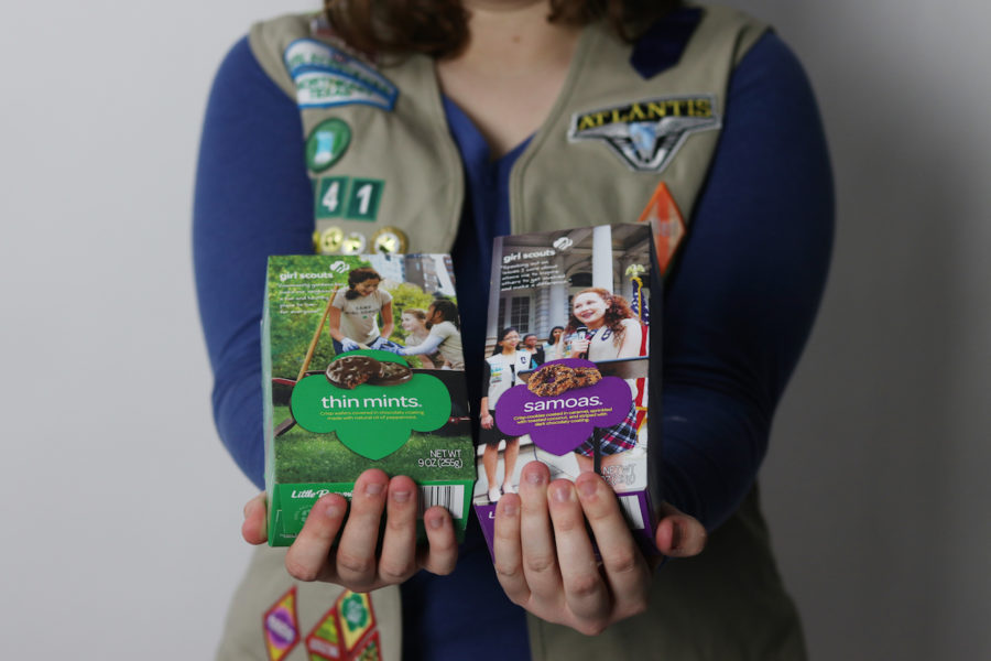 While+girl+scout+cookies+are+well-known+for+their+tastiness%2C+the+sale+of+the+brightly-colored+boxes+also+teaches+business+and+communication+skills.