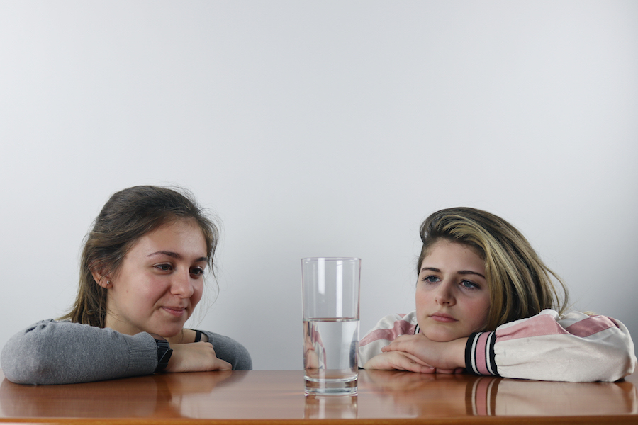 Freshmen Lily Hager and Hannah D'Iorio express their thoughts on the tale of worldviews.