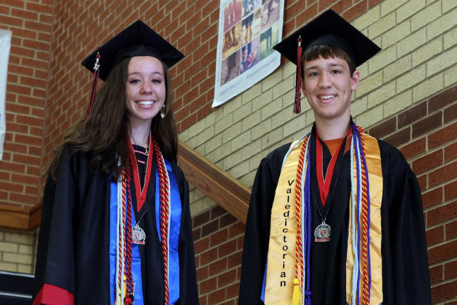 Twins Hope and Holden Bentley hold two of top 10 spots for the Class of 2017.