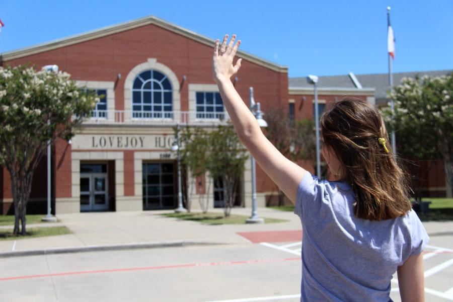 Senior+Mandy+Halbert+shares+her+goodbye+to+Lovejoy+High+School.
