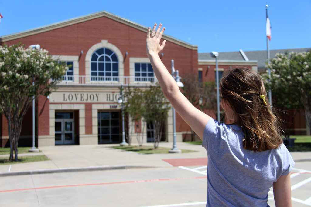 Senior Mandy Halbert shares her goodbye to Lovejoy High School.