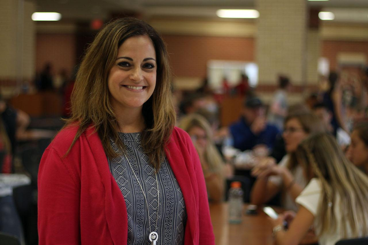 New assistant principal Julie Hirsh joins the high school this year after 18 years at Jasper High School.