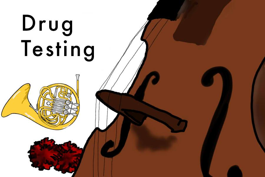 All students in fine art extracurriculars will be included in the drug screenings today.