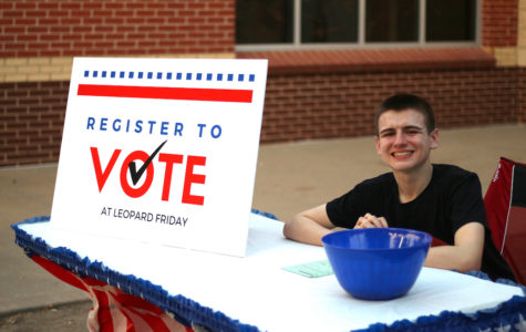 Student sets goals for polls