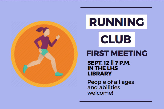 The Lovejoy Running Club will be open to all ages.
