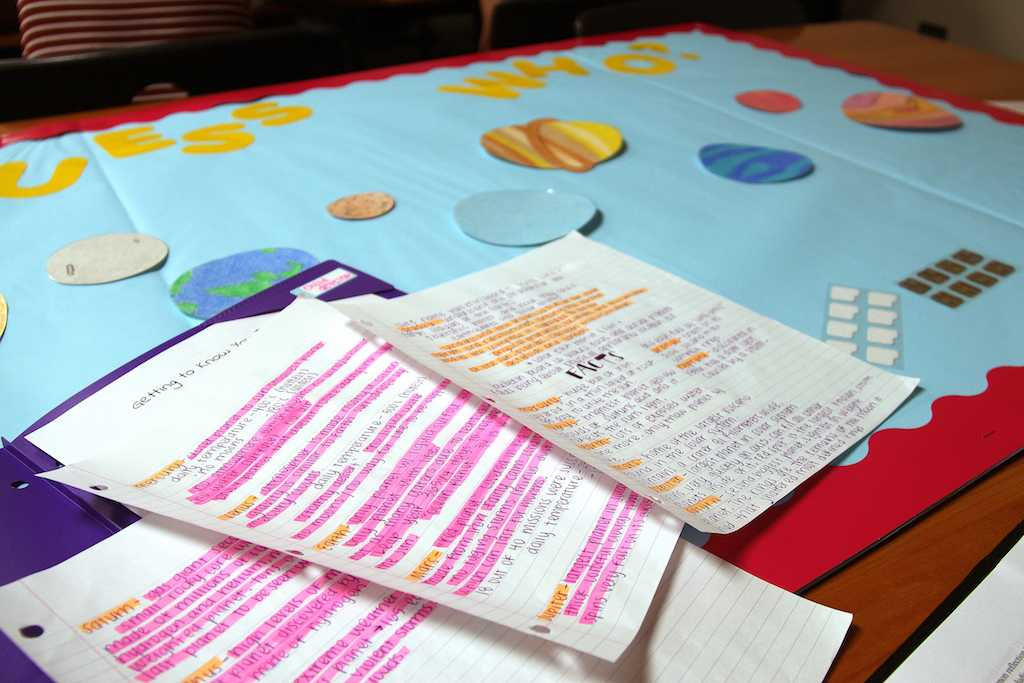 Solar system presentation created by Ready, Set, Teach student Mckinley Chaney.