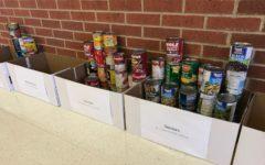 Student council sets unique incentive for food drive