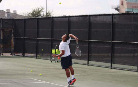 Tennis to face Mesquite Poteet in final district match