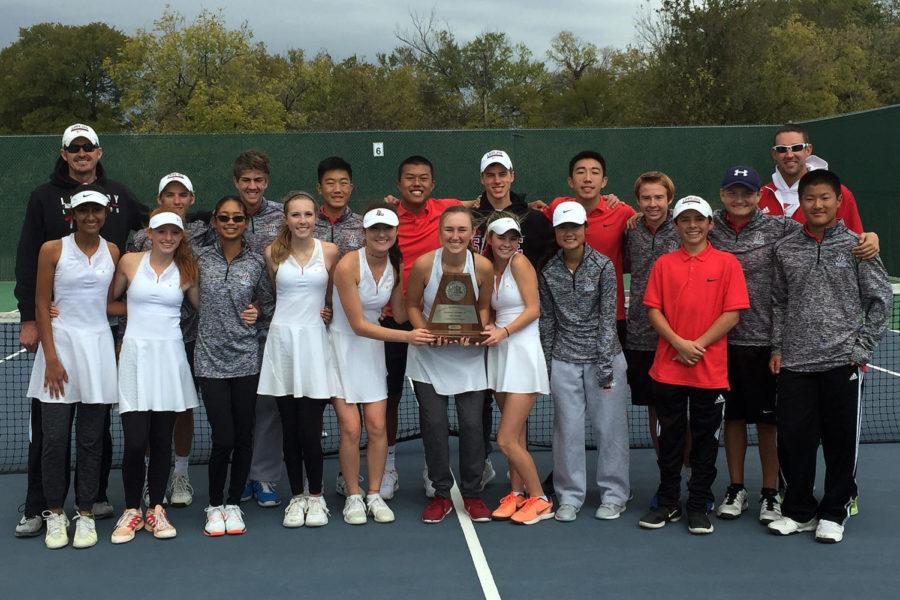 Tennis finished as runner up in the Region 2 tournament.