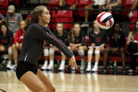 Volleyball enters second half of district play