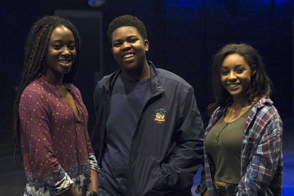 Seniors Siobhan Pitan, Kalu Nchege, and Kiersten Burno look to celebrate diversity as Black Culture Society leaders.