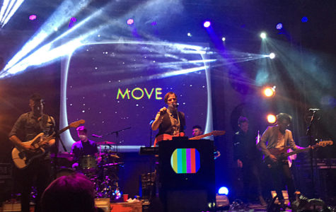 Review: Saint Motel provides retro, energetic performance