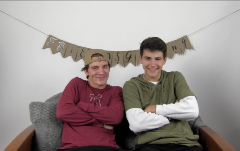 Friendsgiving: Noah Shackelford and Carter Griffith