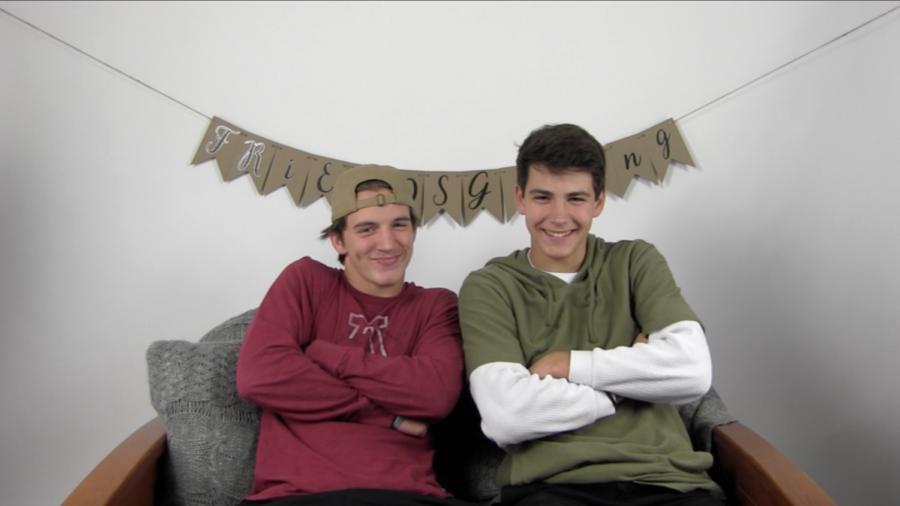 Friendsgiving: Noah Shackelford and Carter Griffith