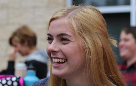 Sophomore Sara Rouse