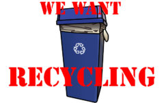 Environmental club to petition for recycling return
