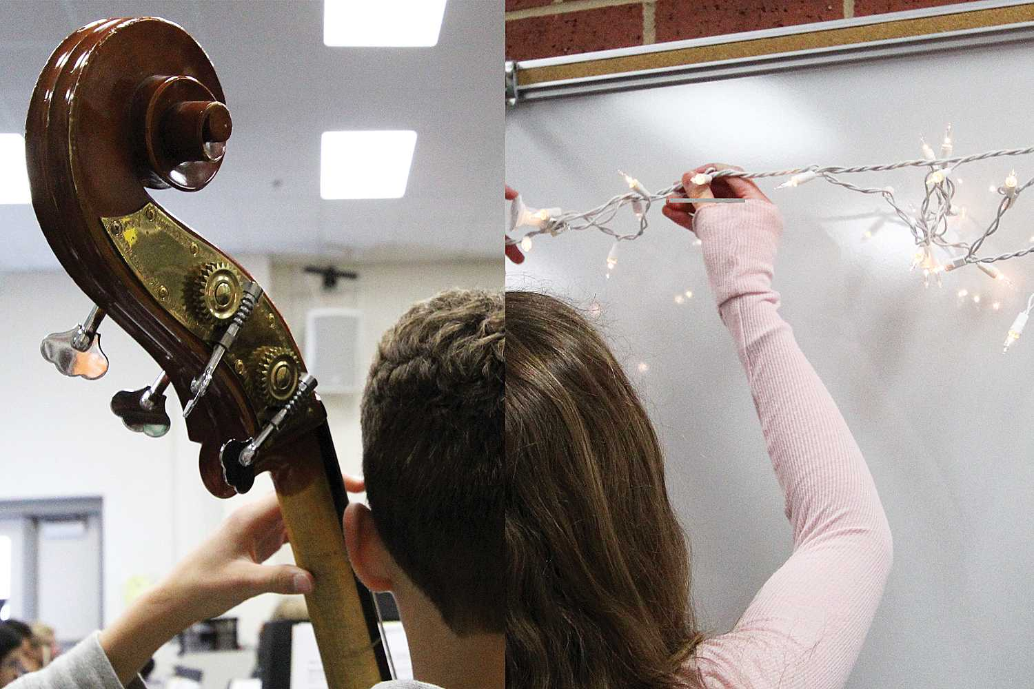Students involved in high school arts will be on show this weekend.