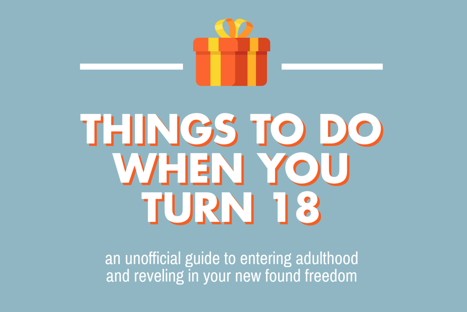 Adulthood brings plenty of new unwanted responsibilities, but what are some interesting things available when you hit the big