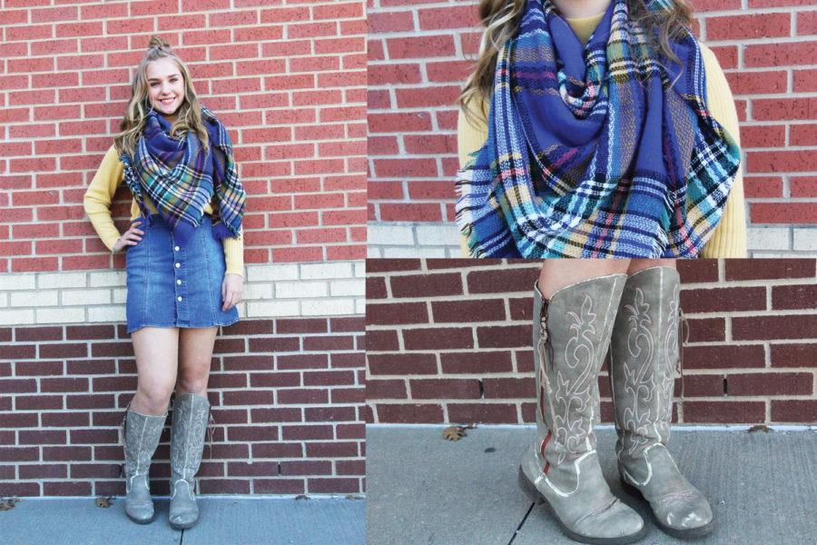 Photo essay: Winter fashion around the school