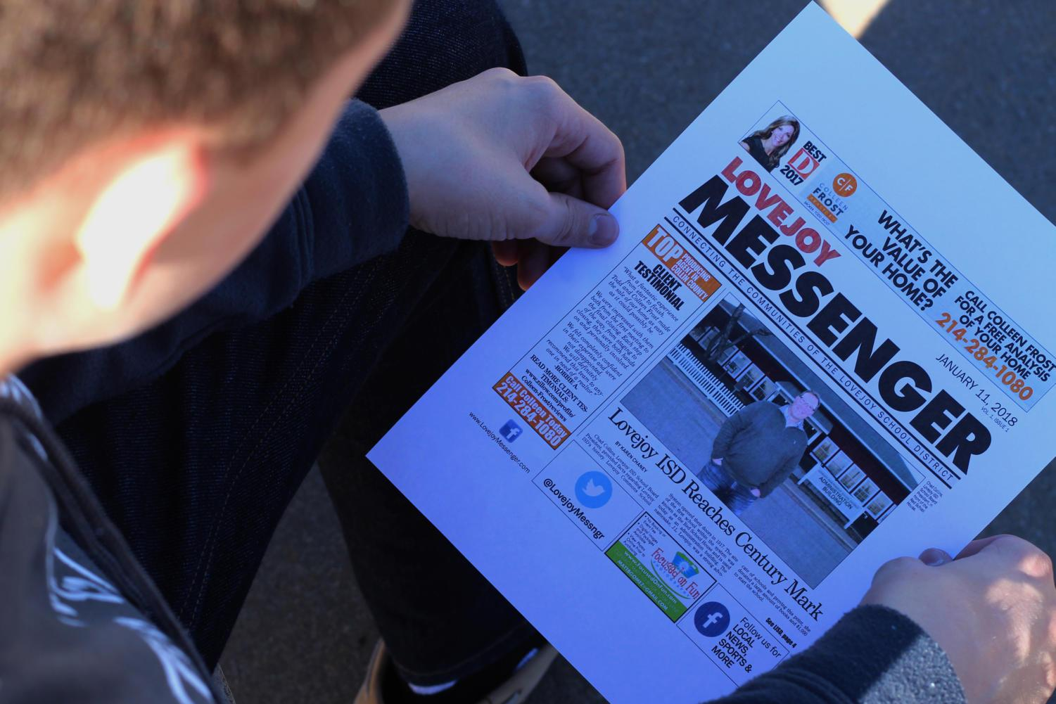New newspaper to be delivered via mail every other Thursday.