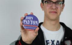 Senior serves community through campaigning