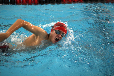 Swimming advances in district, prepares for regionals