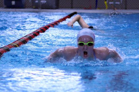 Swim team approaches regional meet