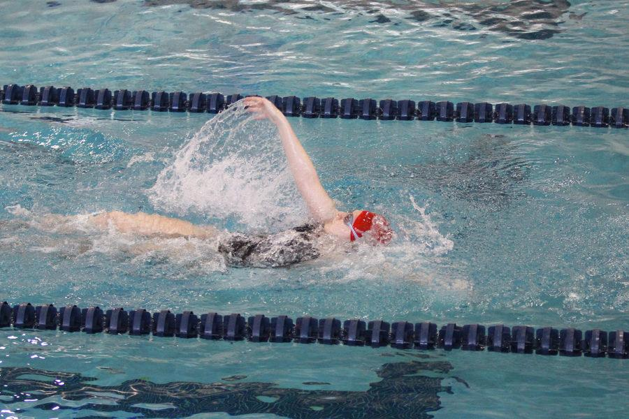 A number of swimmers advanced to the state competition at the regional meet, earning lifetime bests in addition.