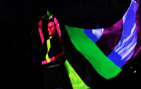 Photo Gallery: Blacklight pep rally 2018