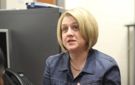 English teacher Tricia Brown