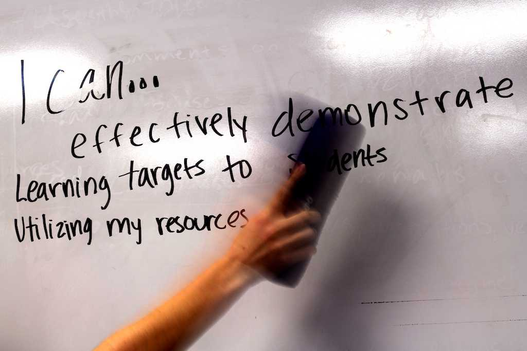 Learning targets should be embraced by teachers to benefit students.