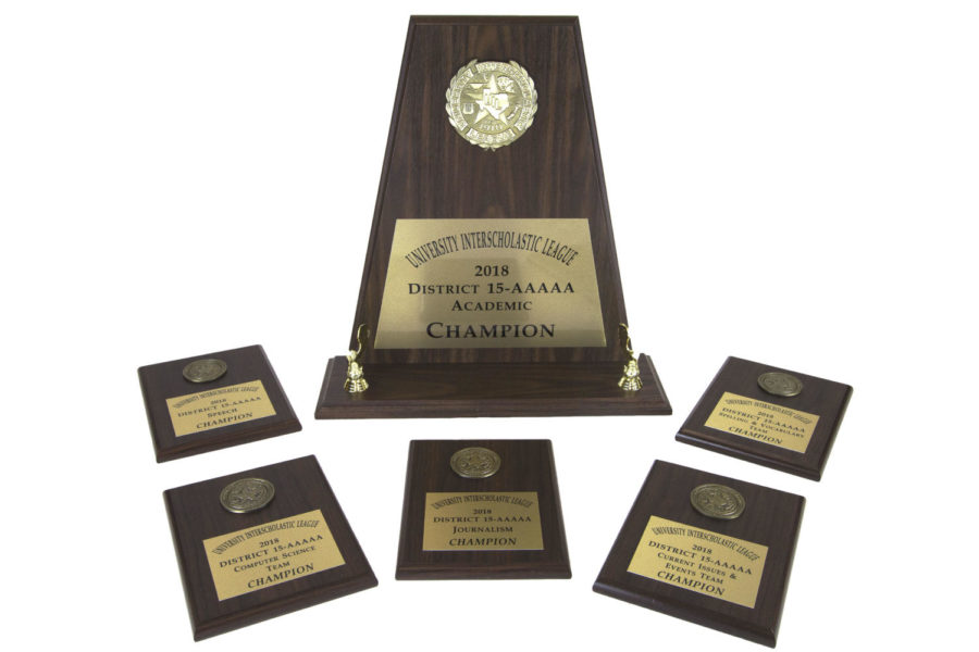 The UIL academic teams took first place. Four teams will advance to the regional meet.