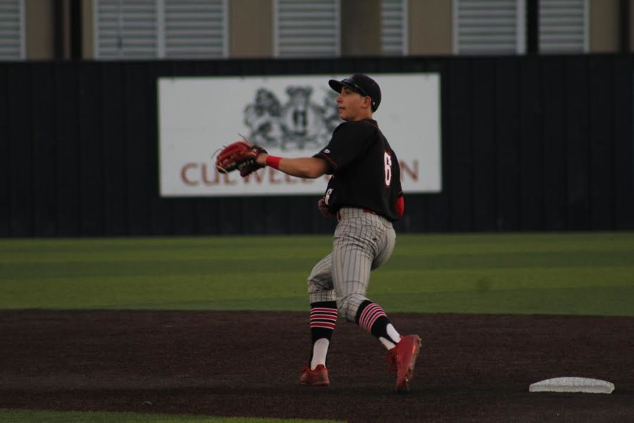 Baseball aims to complete sweep of West Mesquite