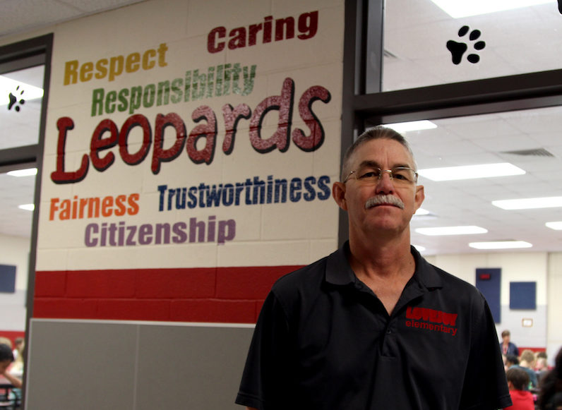 """""""He is always talking about ways to make [the district] better, and he is proud of our students, his staff, and our school,"""" Lovejoy Elementary principal Wendy Craft said."""