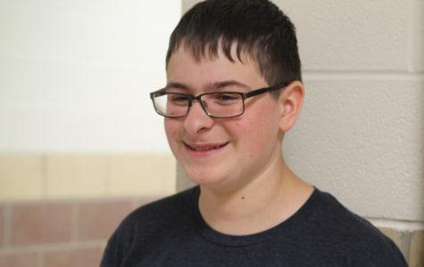 Sophomore Shane Uhl