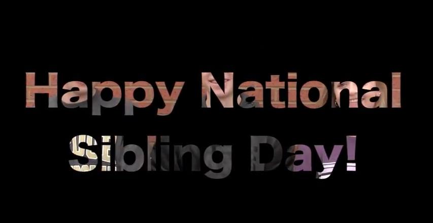 Video: National Siblings Day