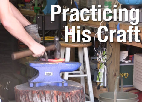 Video: Practicing his craft