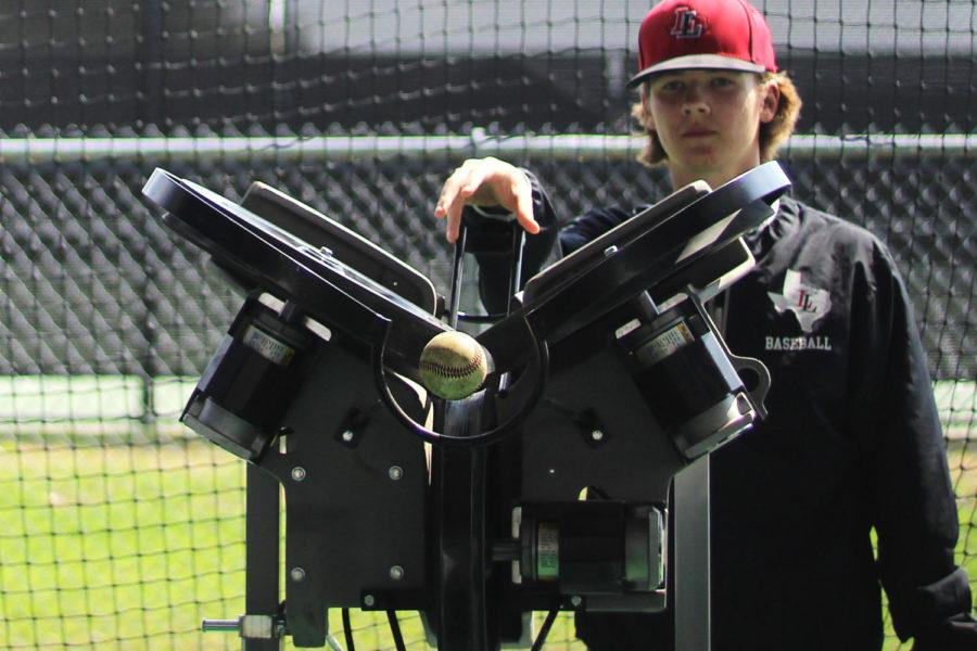 Baseball team uses Hack Attack pitching machines to improve practice experience