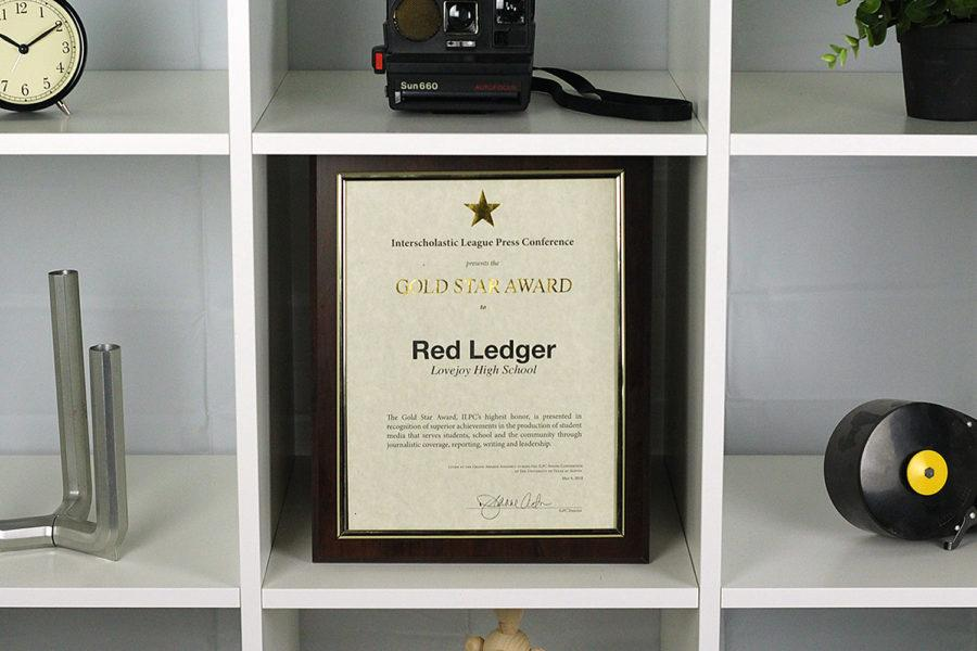 The Red Ledger receives numerous honors at ILPC