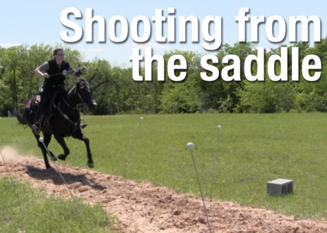 Video: Shooting from the saddle