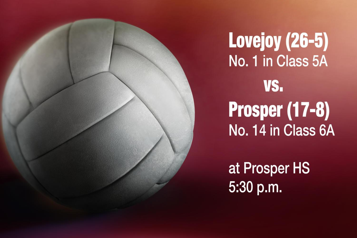 Off to strong start in the early season, the Leopard volleyball team travels to Prosper to face the team which eliminated Lovejoy from playoffs last season.