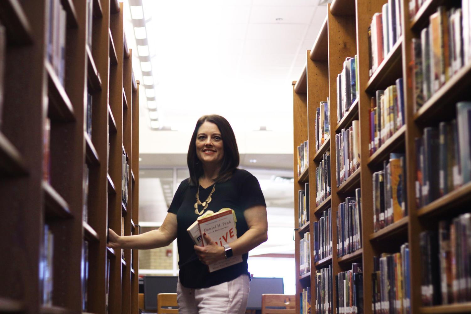Heather Barr takes over the role as Library Media Specialist.